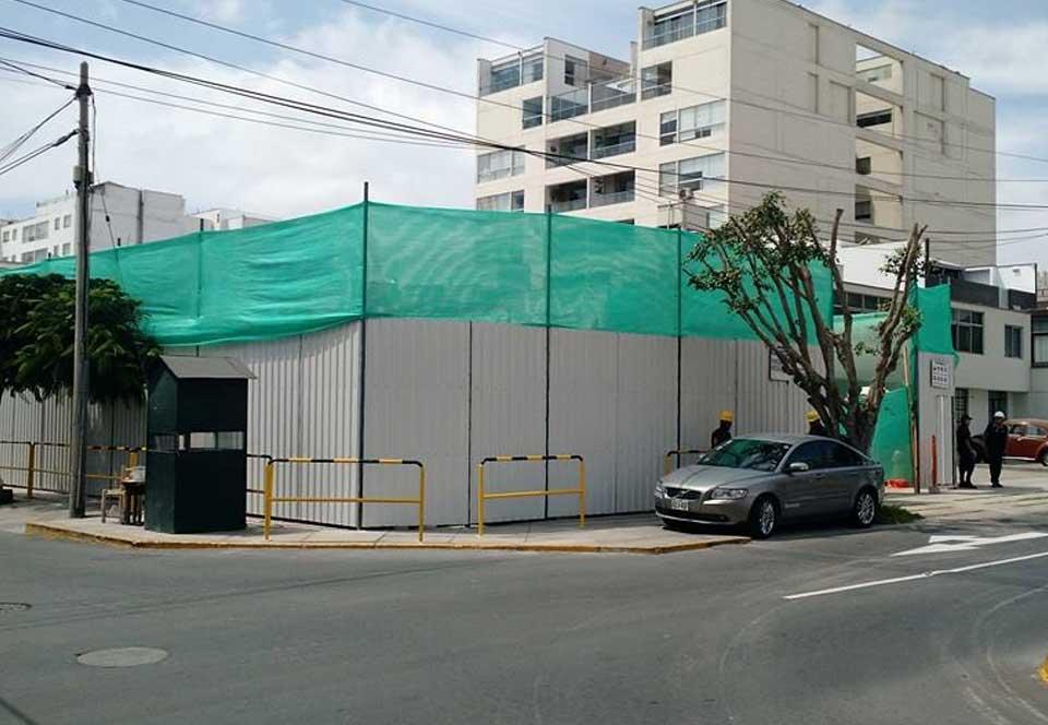 Iniciamos la obra Casimiro Ulloa en Miraflores