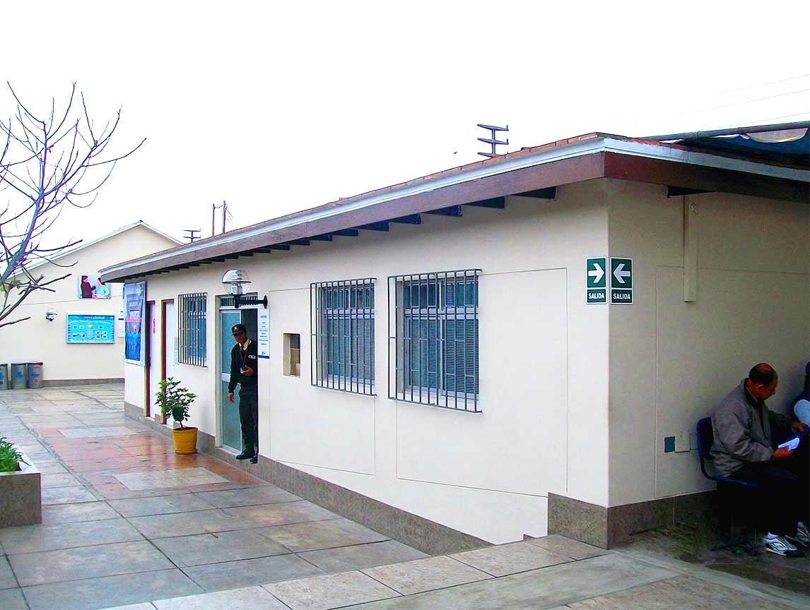 Mejoramiento y equipamiento del Hospital  Negreiros