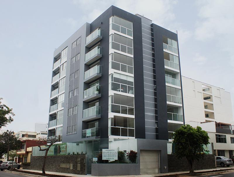 Edificio residencial Casimiro Ulloa